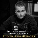 Phillip Gruissem Leads Global Poker Index