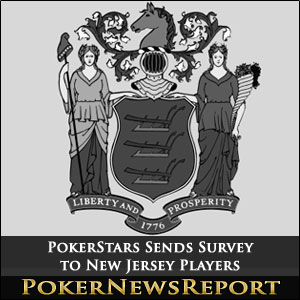 PokerStars Sends Survey to New Jersey Players