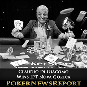 Claudio Di Giacomo Wins IPT Nova Gorica