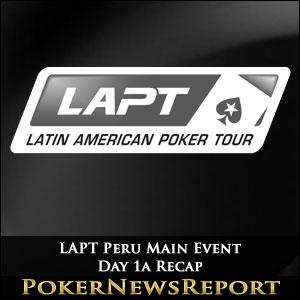 LAPT Peru Main Event Day 1a Recap