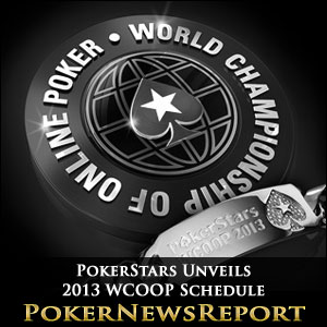 PokerStars Unveils 2013 WCOOP Schedule