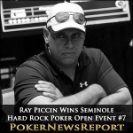 Ray Piccin Takes Down Seminole Hard Rock Poker Open Event #7