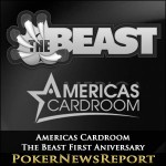 Americas Cardroom Celebrates The Beast First Anniversary