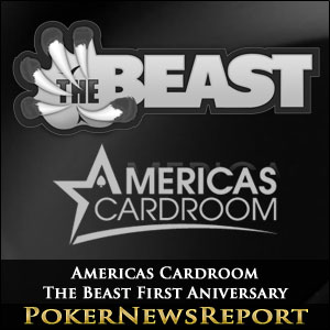 Americas Cardroom The Beast First Aniversary
