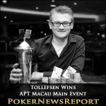 Tollefsen Wins APT Macau Main Event