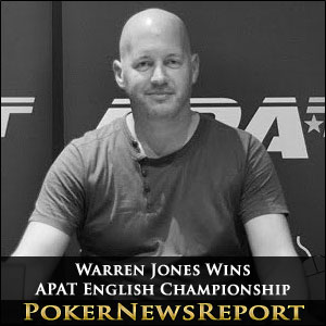 Warren Jones Wins APAT English Championship