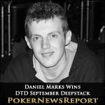 Daniel Marks Runs Hot to Take DTD September Deepstack
