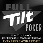 Full Tilt Poker´s MiniFTOPS XXIII Starts on Sunday