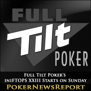 The next couple of weeks are going to provide a full schedule of action for online tournament players, with three major poker series starting on Sunday.
