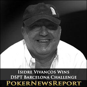 Isidre Vivancos Wins DSPT Barcelona Challenge
