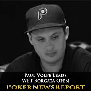 Paul Volpe Leads WPT Borgata Open