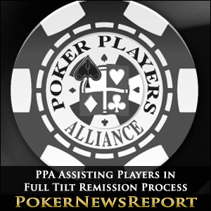 PPA Assisting Players in Full Tilt Remission Process