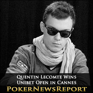Quentin Lecomte Wins Unibet Open in Cannes