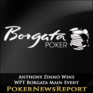 Anthony Zinno Wins WPT Borgata Main Event