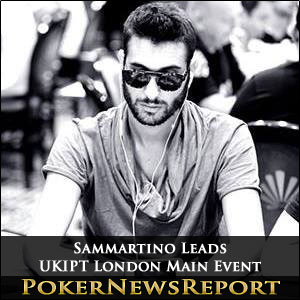 Sammartino Takes Overall Control of UKIPT London Main Event