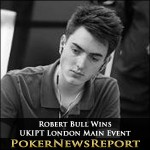 Bull Rides his Luck to UKIPT London Main Event Title