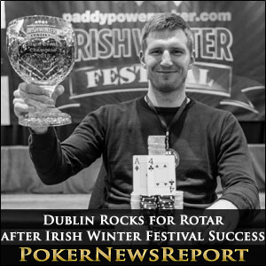 Dublin Rocks for Rotar after Irish Winter Festival Success
