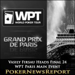 Vasily Firsau Heads Final 24 in WPT Paris Main Event