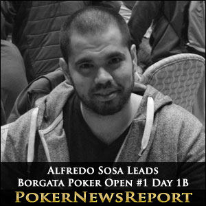Alfredo Sosa Leads Borgata Poker Open #1 Day 1B