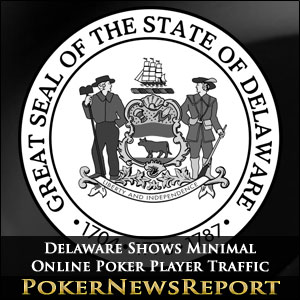 Delaware Shows Minimal Online Poker Player Traffic