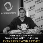 Josh Reichard Takes Down PokerNews MSPT Ho-Chunk