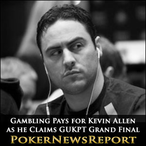 Gambling Pays for Kevin Allen as he Claims GUKPT Grand Final