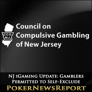 NJ Gamblers Permitted to Self-Exclude