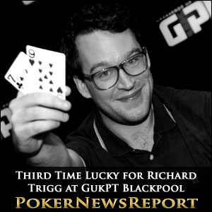 Third Time Lucky for Richard Trigg at GukPT Blackpool
