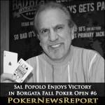 Sal Popolo Enjoys Victory in Borgata Fall Poker Open #6