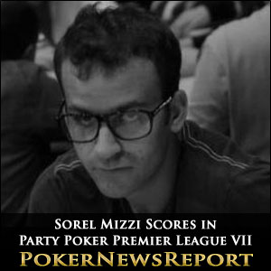 Sorel Mizzi Scores in Party Poker Premier League VII