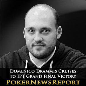 Domenico Drammis Cruises to IPT Grand Final Victory