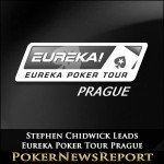 Chidwick leads the Eureka Prague Main Event into Penultimate Day