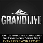 Mattias Kurschner Heads Grand Live Prague after Double Day 1