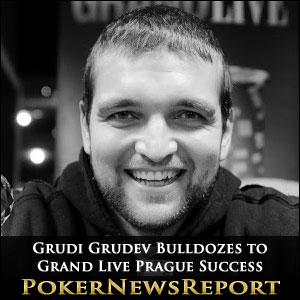 Grudi Grudev Bulldozes to Grand Live Prague Success