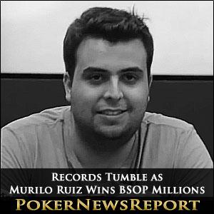 Murilo Ruiz Wins BSOP Millions