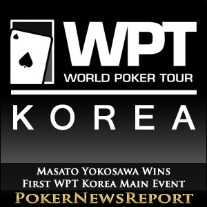 Masato Yokosawa Wins First WPT Korea Main Event