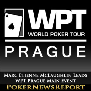 Marc Etienne McLaughlin Leads WPT Prague Main Event