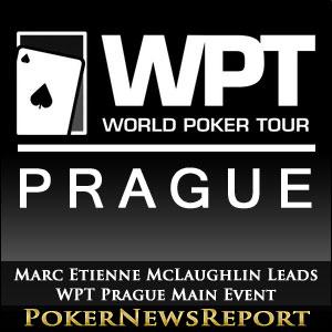 Marc Etienne McLaughlin Leads WPT Prague Main Event