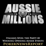 Italians Spoil the Party by Winning Opening Aussie Events