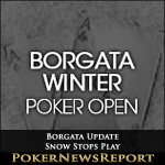 Borgata Update – Snow Stops Play