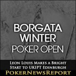 Borgata Opening Event Sees Broedelet Lead into Final Day