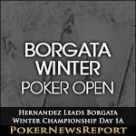 Hernandez Leads Borgata Winter Championship Day 1A