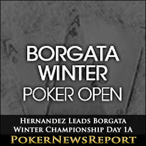 Hernandez Leads Borgata Winter Championship Day 1A