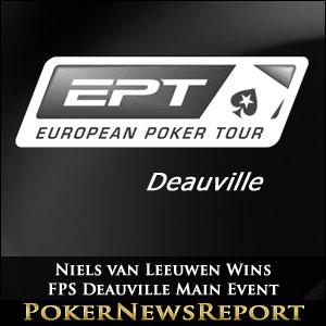 Niels van Leeuwen Wins FPS Deauville Main Event