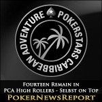 Fourteen Remain in PCA High Rollers – Selbst on Top
