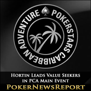 Hortin Leads Value Seekers in PCA Main Event