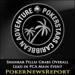 Shankar Pillai Grabs Overall Lead in PCA Main Event