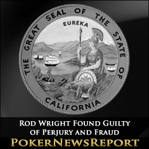 Rod Wright Found Guilty of Perjury and Fraud