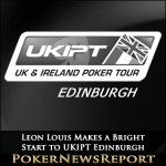 Leon Louis Makes a Bright Start to UKIPT Edinburgh