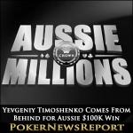 Yevgeniy Timoshenko Comes From Behind for Aussie $100K Win
